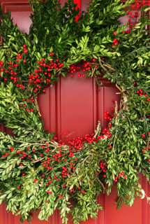 Baker's Twine, Wreaths & Preparing for the Holidays