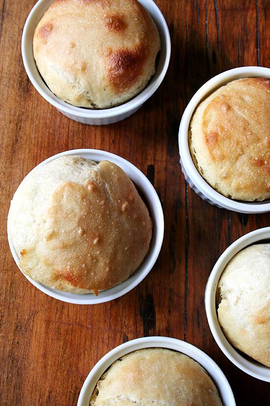 mini loaves baked in ramekins