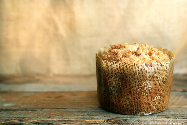 coffeecake muffin