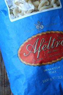 A Second Marcella Hazan Tomato Sauce + Hot Italian Sausage + Gragnano Pasta = Utter Deliciousness
