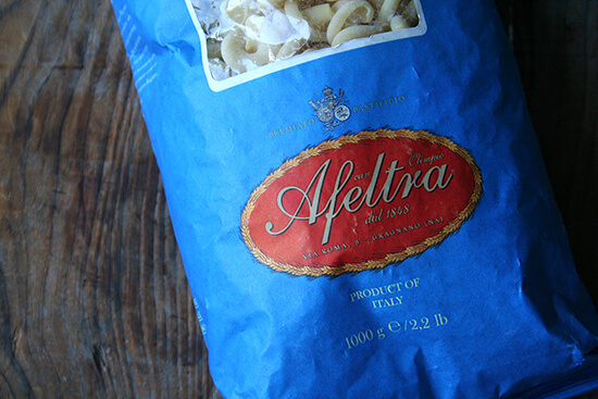 Afeltra pasta from Eataly