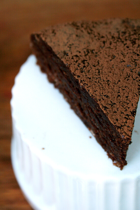 Jean-Georges chocolate cake