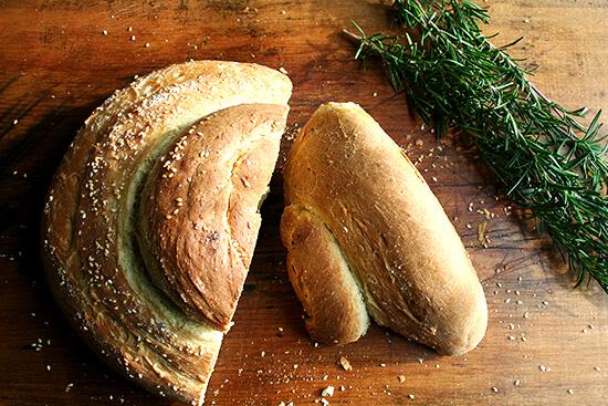 Macrina's Bakery Rosemary-Olive Oil-Semolina Bread