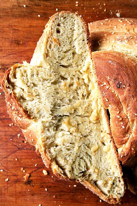 rosemary semolina loaf
