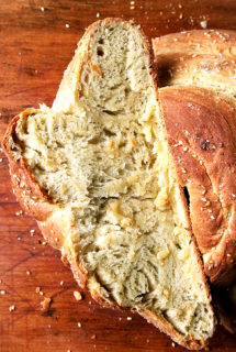 Rosemary Semolina Bread with Sea Salt from Seattle's Macrina Bakery