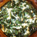 Crustless Quiche, Loaded with Kale