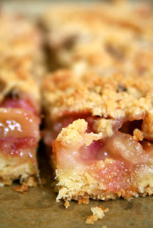 Rhubarb Buckle, Revisited