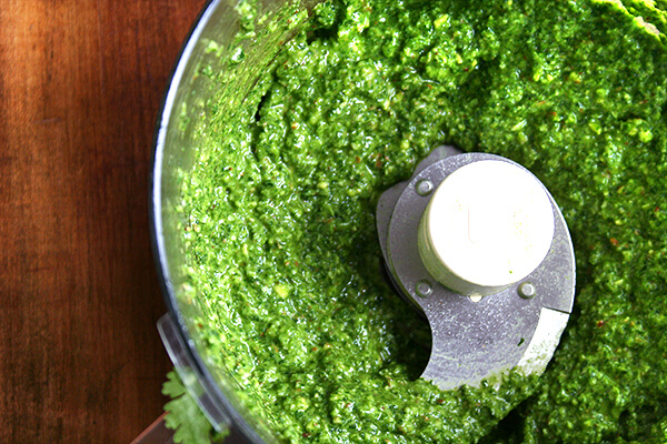 cuisinart with pesto