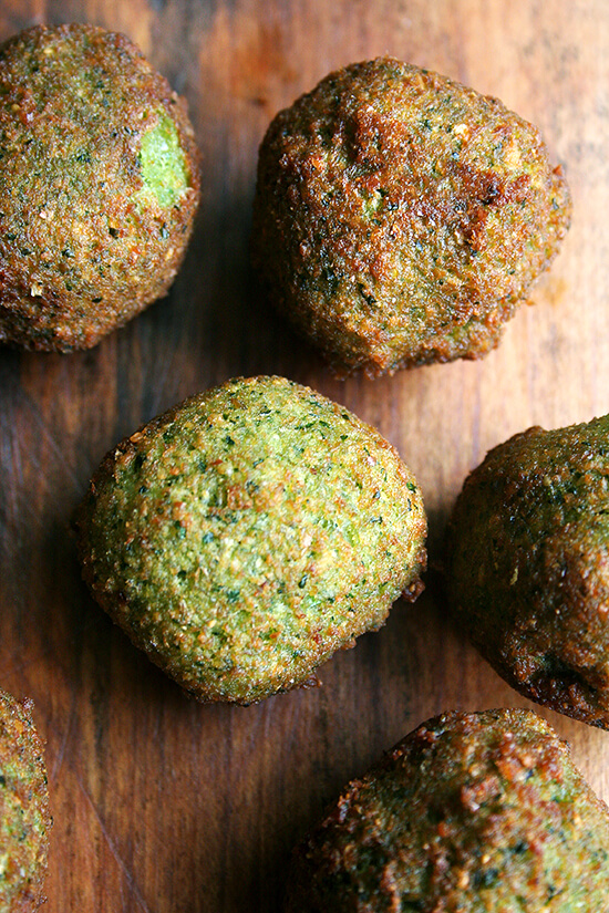 falafel, just fried