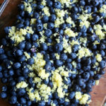 Lemon Blueberry Crisp