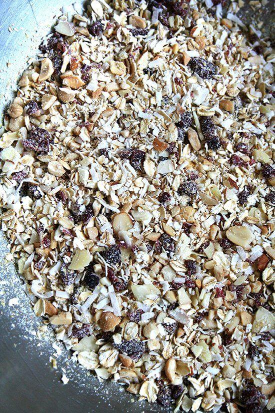 pulsed granola mix