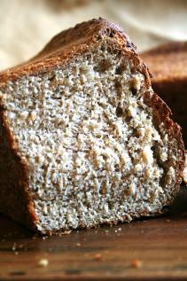 No-Knead Oatmeal Toasting Bread
