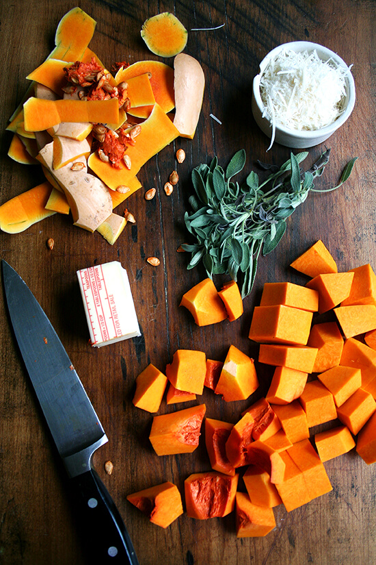 butternut squash sauce ingredients