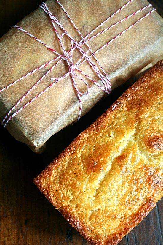 Orange and Ricotta Pound Cake