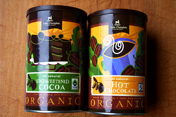 Lake Champlain Chocolates Fair Trade Unsweetened Cocoa & Hot Chocolate