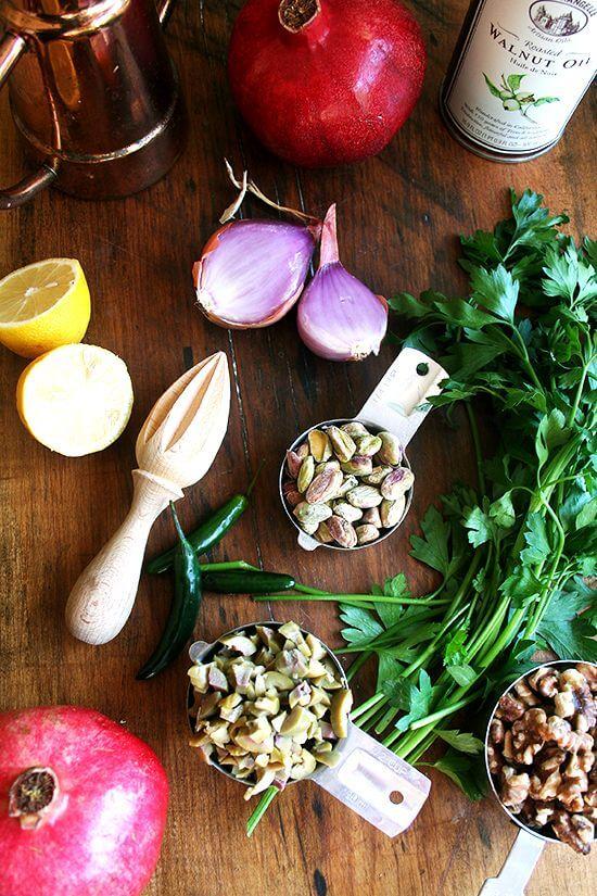green olive salad ingredients