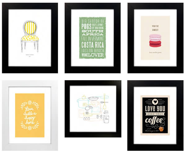 art prints for the hostess, by minted