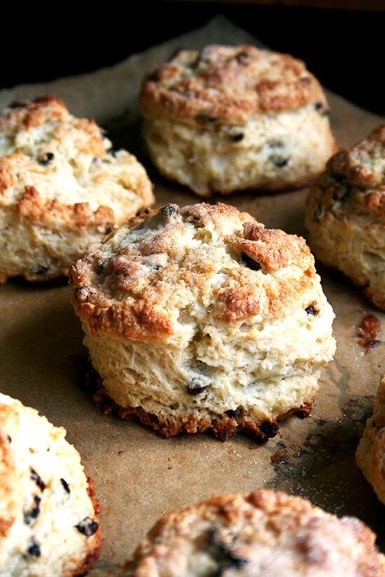 Tartine's currant scones