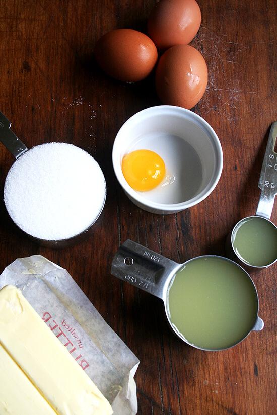 Tartine's lemon cream ingredients