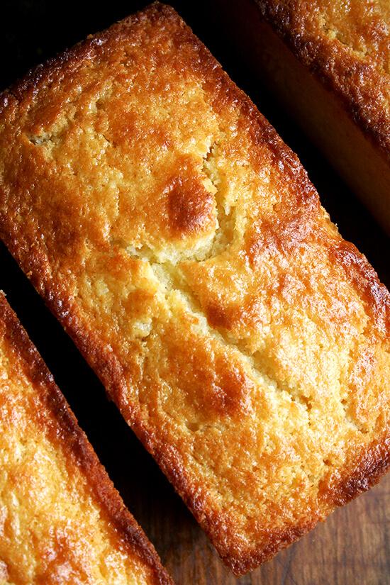 orange-ricotta loaf