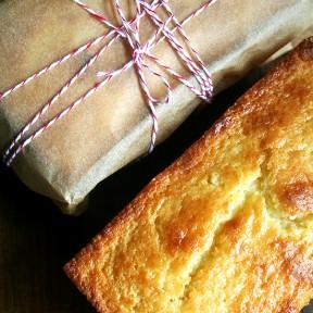 Orange-and-Ricotta Pound Cake & A Few Gift Ideas