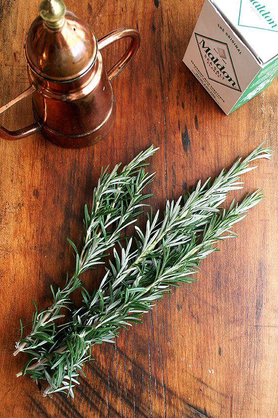 rosemary & olive oil & sea salt
