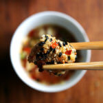 Detox: Sesame-Crusted Tofu with Nuoc Cham