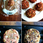 Curried Lamb Burgers with Chutney Mustard & Greek Yogurt