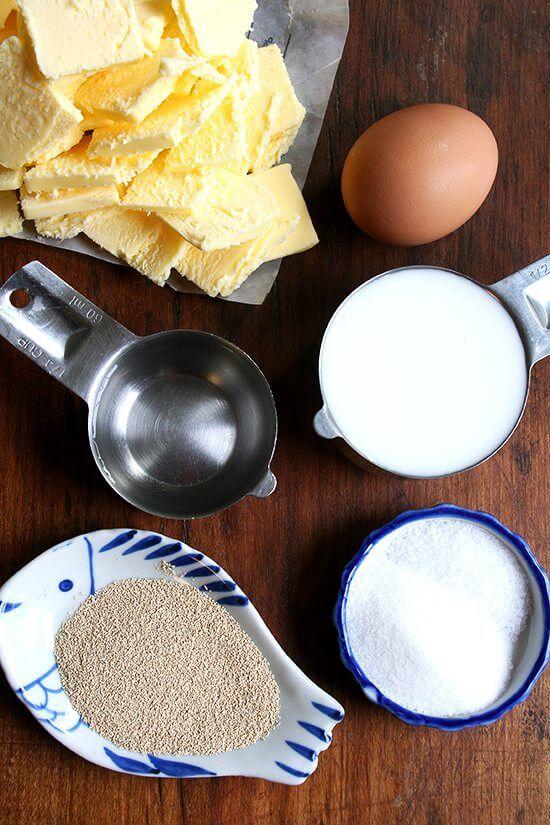 processor danish pastry ingredients