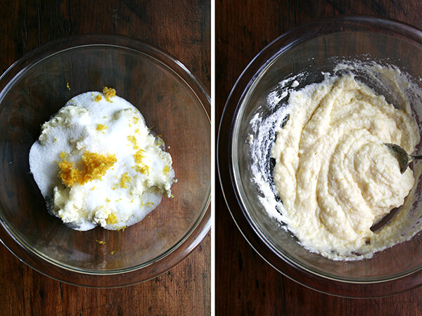 lemon-ricotta filling