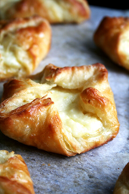 just-baked cheese danish