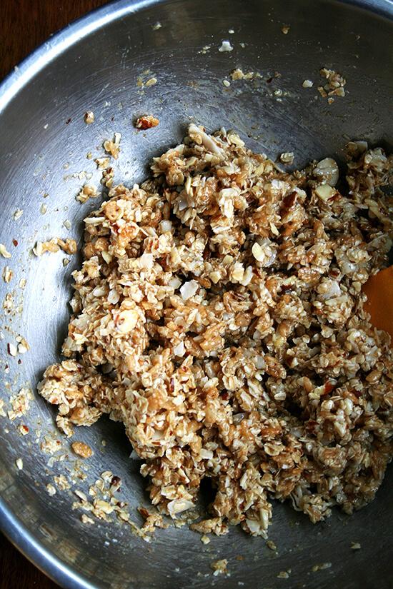 granolabarmixture