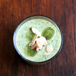 Cucumber & Green Grape Gazpacho | Quinoa Salad with Mango, Lime & Ginger