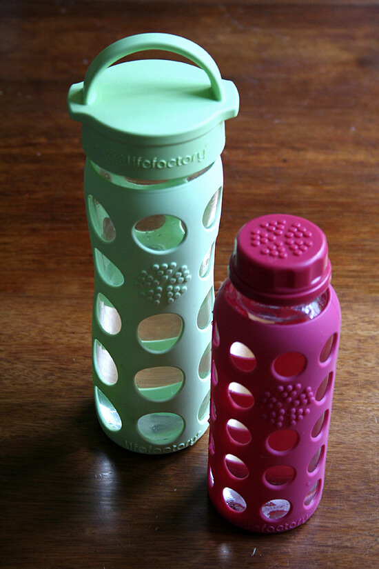Lifefactory Glass Bottle Giveaway // Watermelon Agua Fresca