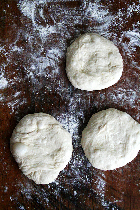 Lahey pizza dough