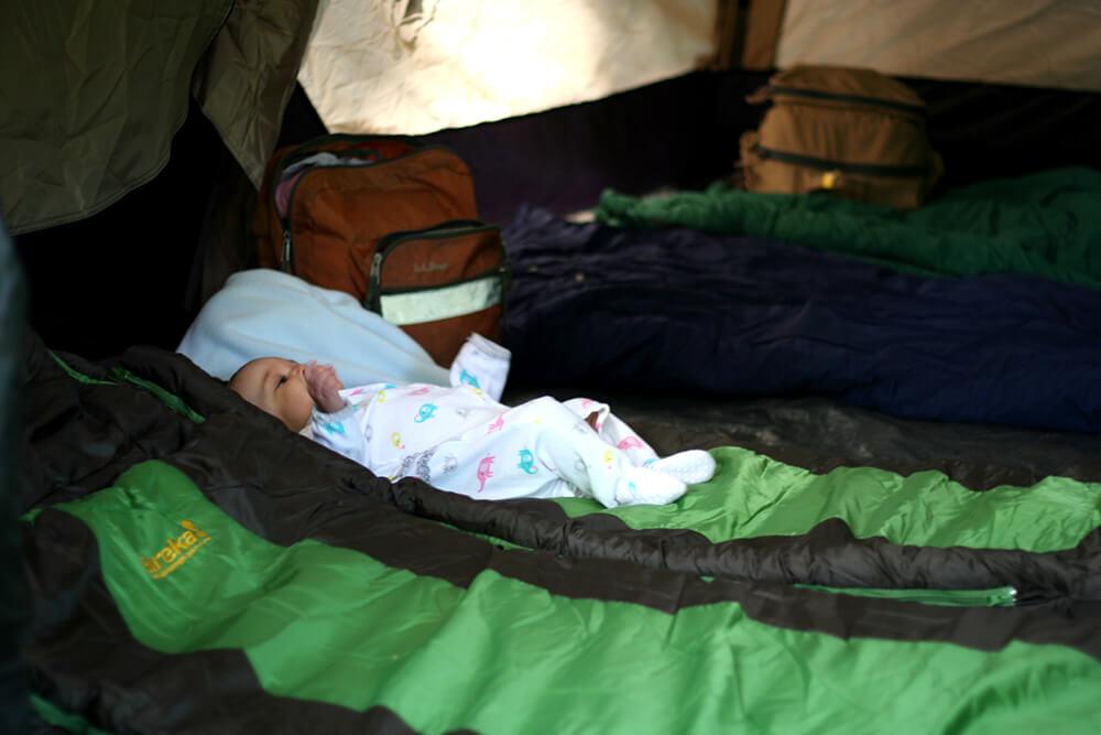 Toasted Muesli // Camping at Heart Lake, Lake Placid