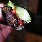 Bulgogi with Cucumber-Apple Pickle