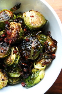 Ina Garten's Balsamic Brussels Sprouts // Philadelphia Fish House Punch