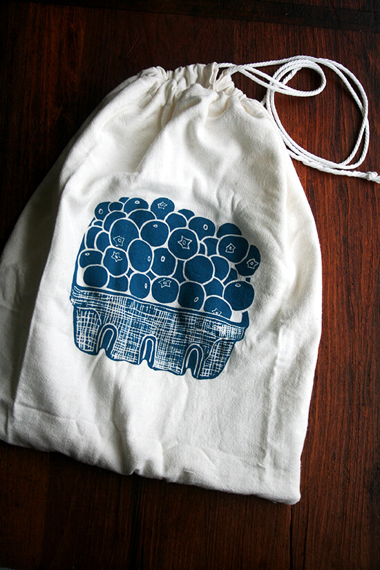 blueberry bag