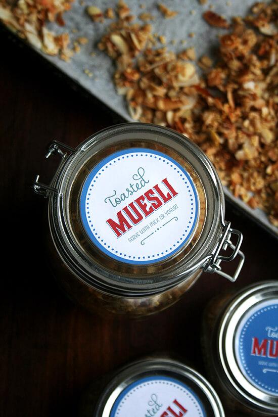 top of jar