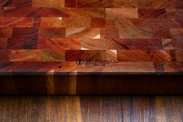 jk adams cherry chunk cutting board