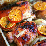 Roasted Chicken with Clementines