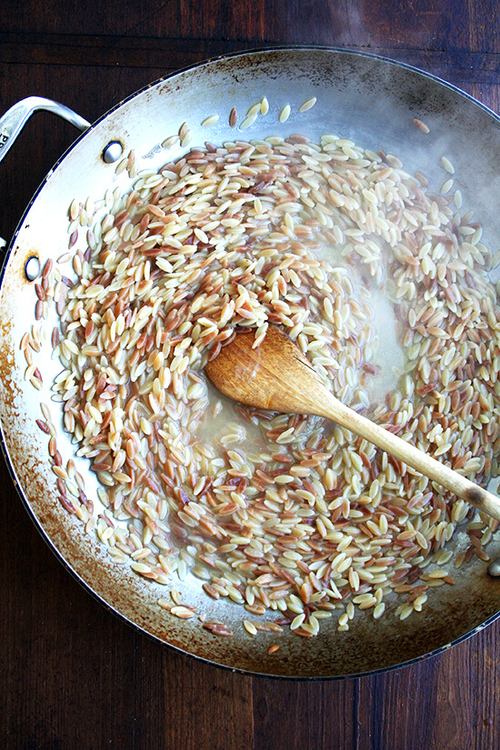 orzo, almost there