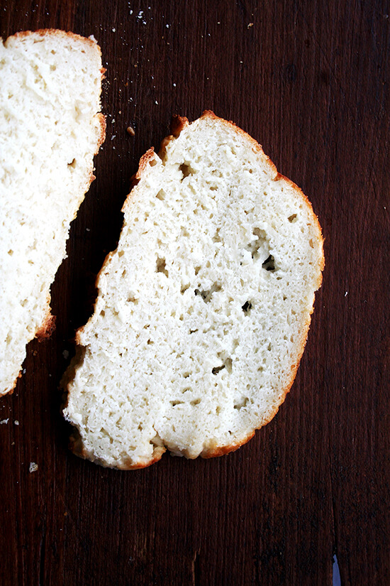 gluten-free bread made with buttermilk