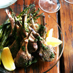 Broiled Lamb Chops with Nigella's Mint Sauce