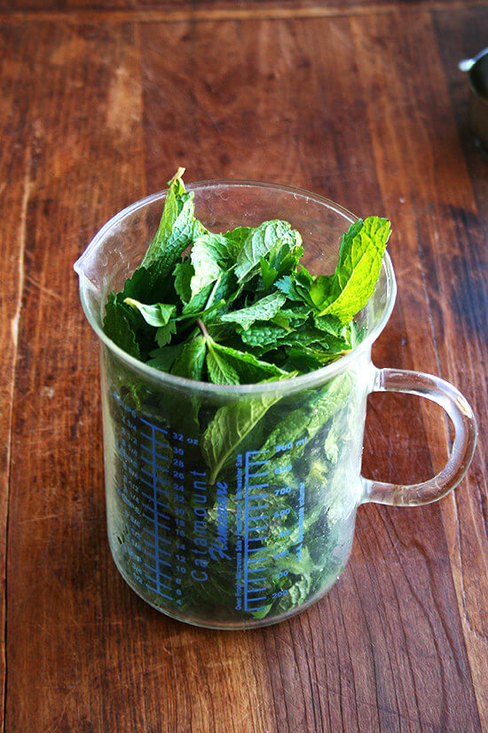 mint and parsley
