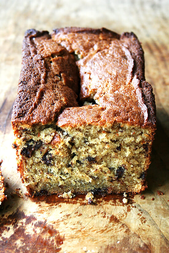 loaf of coffee cake