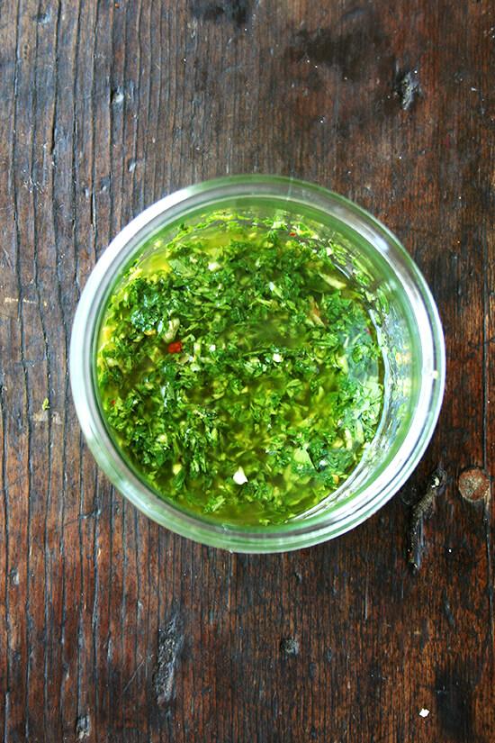 herb sauce