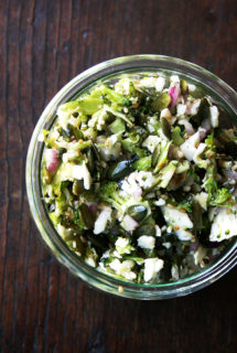 Cauliflower, Broccoli & Pepita Salad
