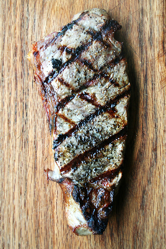 grilled strip